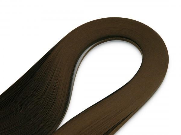 Quilling Papierstreifen Braun 120 Stück 390mm lang 3mm breit