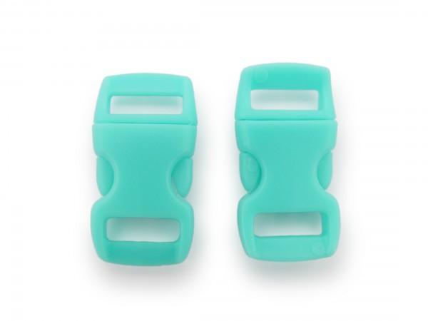 2 x Click Clip Verschluss Mint Schnalle Steckverschluss für Paraco. Rucksack Gürtel