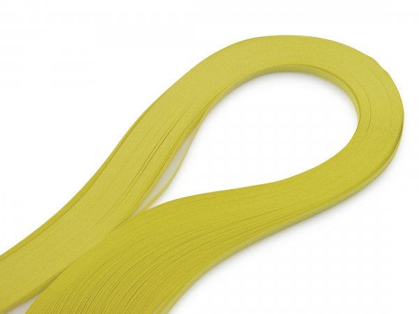 Quilling Papierstreifen Gelb 120 Stück 390mm lang 3mm breit