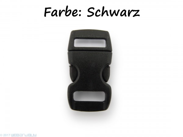 Click Clip Verschluss Schwarz Schnalle Steckverschluss für Paraco. Rucksack Gürtel