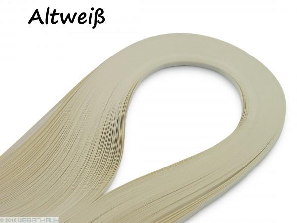 Quilling Papierstreifen Altweiß 120 Stück 390mm lang 3mm breit