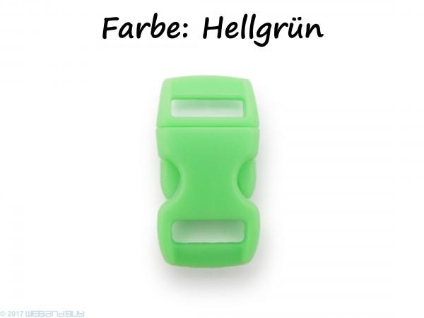 Click Clip Verschluss Hellgrün Schnalle Steckverschluss für Paraco. Rucksack Gürtel