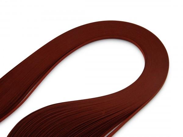 Quilling Papierstreifen Dunkelrot 120 Stück 390mm lang 3mm breit