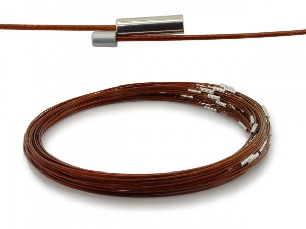 Halsreif aus Stahl Magnetverschluss Sienna Länge ca. 50 cm
