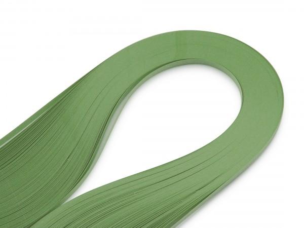 Quilling Papierstreifen Blassgrün 120 Stück 390mm lang 3mm breit