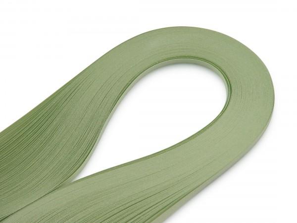 Quilling Papierstreifen Hellgrün 120 Stück 390mm lang 3mm breit