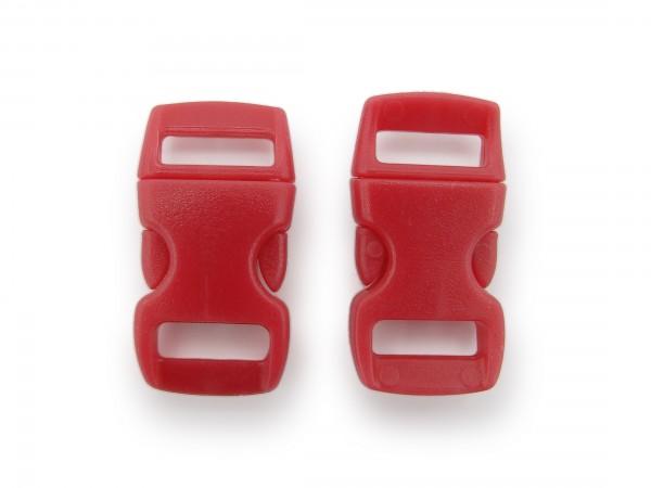 2 x Click Clip Verschluss Purpur Schnalle Steckverschluss für Paraco. Rucksack Gürtel