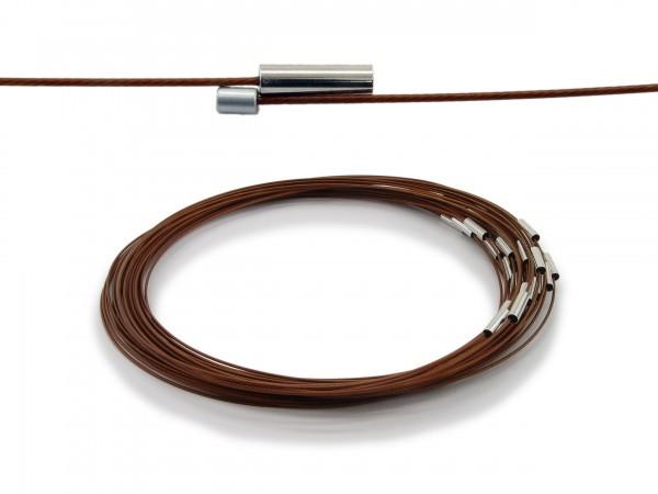 Halsreif aus Stahl Magnetverschluss Sienna Länge ca. 43 cm