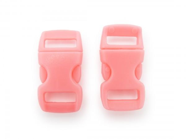 2 x Click Clip Verschluss Pink Schnalle Steckverschluss für Paraco. Rucksack Gürtel