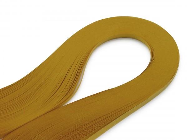 Quilling Papierstreifen Korngelb 120 Stück 390mm lang 3mm breit