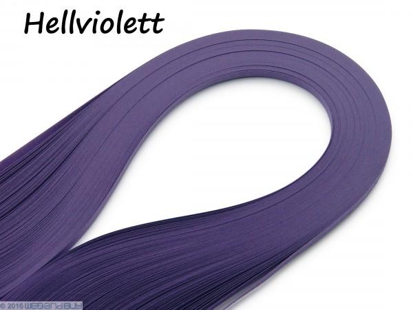Quilling Papierstreifen Hellviolett 120 Stück 390mm lang 3mm breit