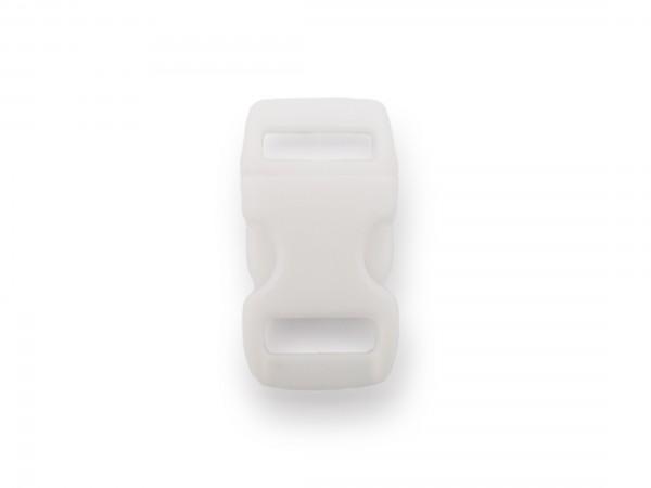 Click Clip Verschluss Weiß Schnalle Steckverschluss für Paraco. Rucksack Gürtel
