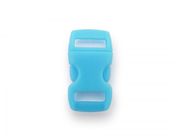 Click Clip Verschluss Hellblau Schnalle Steckverschluss für Paraco. Rucksack Gürtel