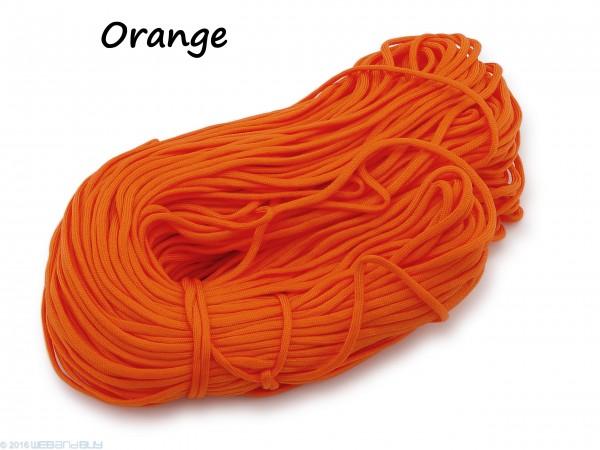 Paraco. Orange Fallschirmleine Fallschirmschnur 4mm dick
